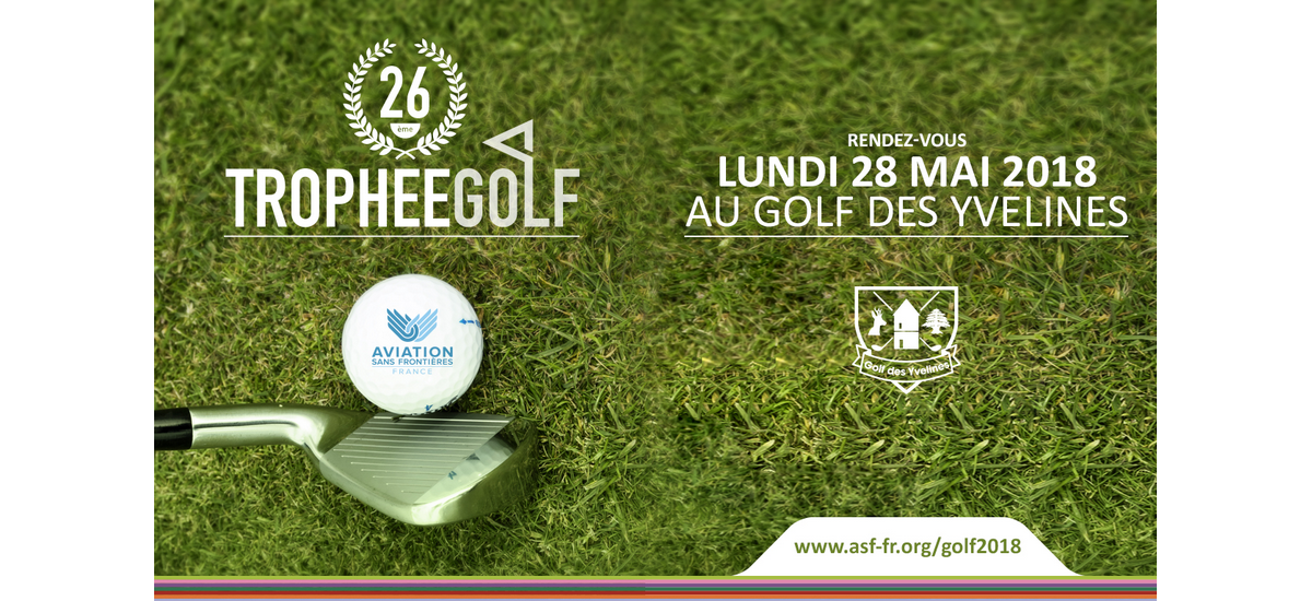 26e trophée Golf d'Aviation Sans Frontières