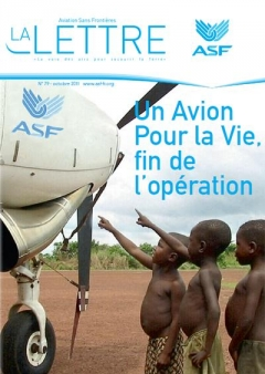 Aviation sans frontières -  Letter  79 - October 2011