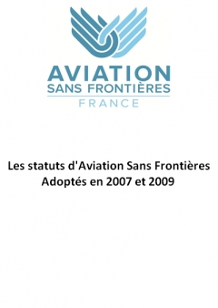 Statutes of Aviation Sans Frontières