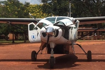 Aircraft mission in Central African Republic